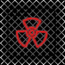 Radioactive Dualtone Icon