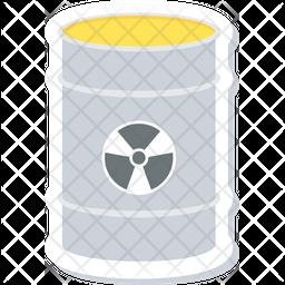 Radioactive Barrel Icon