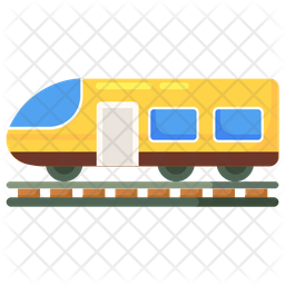 Rail Transportation Icon