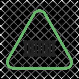 Rail truck sign Icon