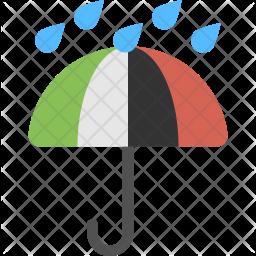 Rain Protection Flat Icon