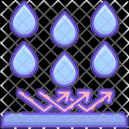Rain Repellent Icon
