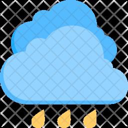 Raining Flat Icon