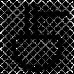 Ramen Bowl Line Icon