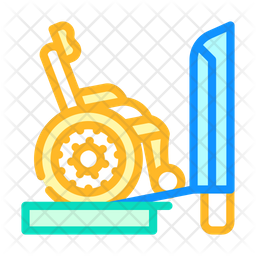 Ramp Train Icon