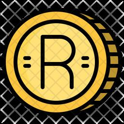 Rand Coin Icon