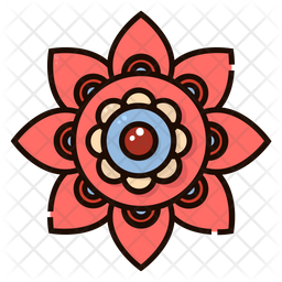 Rangoli decoration Icon