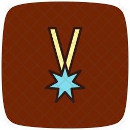 Ranking Colored Outline Icon
