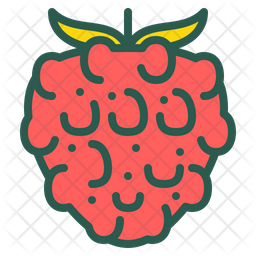 Raspberry Icon Of Colored Outline Style Available In Svg Png Eps Ai Icon Fonts
