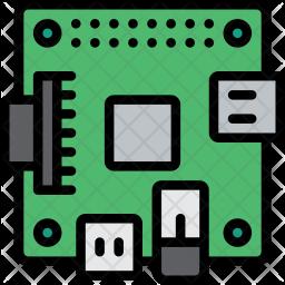 Raspberry Pi Icon Raspberry