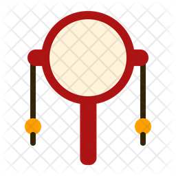 Rattle Drum Icon