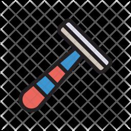 Razor Colored Outline Icon