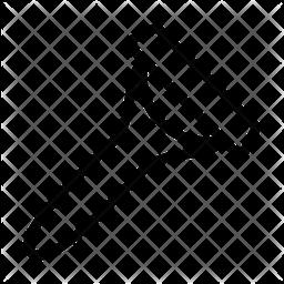 Razor Line Icon