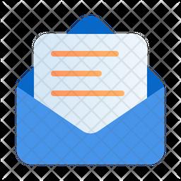 Read meassage Gradient Icon