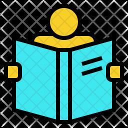 Reading Book Icon