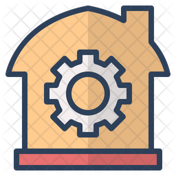 Real Estate Management Colored Outline Icon