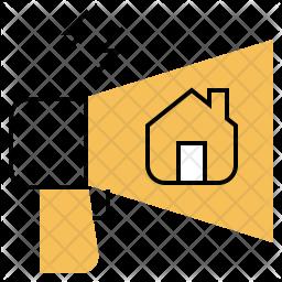 Real Estate Marketing Icon