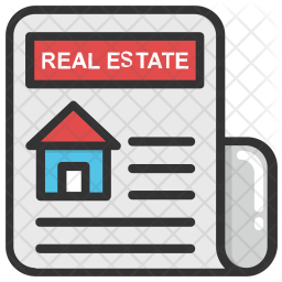 Real Estate Property Ads Icon