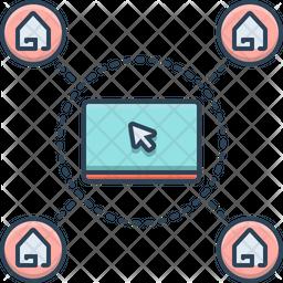 Real Estate Webpage Icon