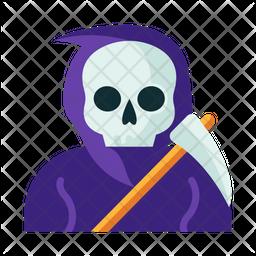 Reaper Flat Icon