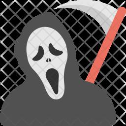 Reaper Costume Flat Icon