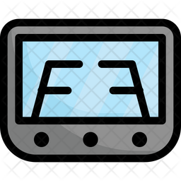 Rear Parking Monitor Icon