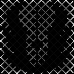 Rebel Alliance Glyph Icon