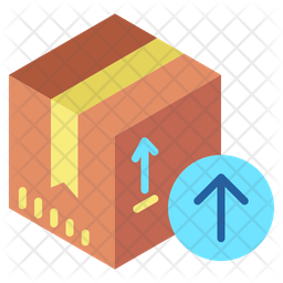 Receive Package Flat Icon