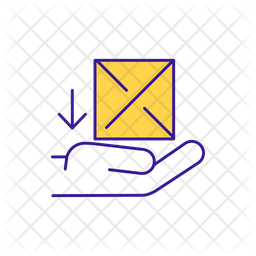 Receive package Icon