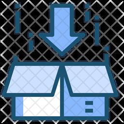 Receive Parcel Icon