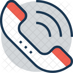 Receiver Colored Outline Icon