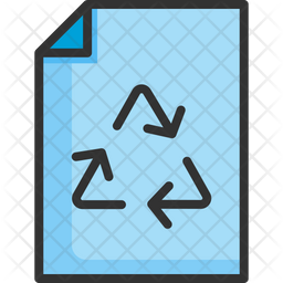Recycle Paper Icon