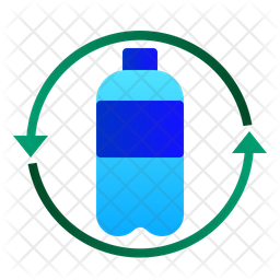 Recycle plastic bottle Icon