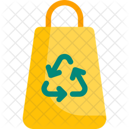 Recycling bag Flat Icon