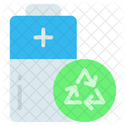 Recycling Battery Icon