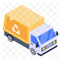 Recycling Truck Icon