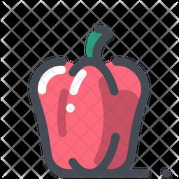 Red capsicum Icon