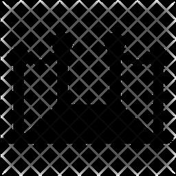 Red Carpet Glyph Icon