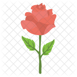 Red Rose Icon