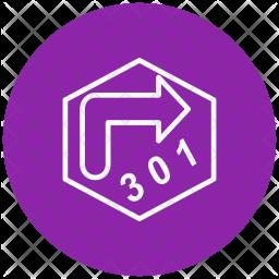Redirect, Redirect-alt-text, Reward-achievement, Award Icon