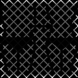 Reduction Glyph Icon