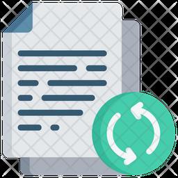 Refresh Document Icon