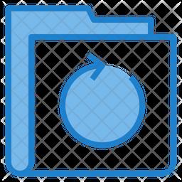 Refresh Folder Icon