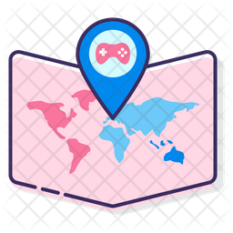 Region Game Icon Of Colored Outline Style Available In Svg Png Eps Ai Icon Fonts