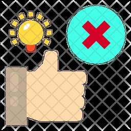 Reject Idea Icon