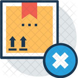 Reject shipment Icon
