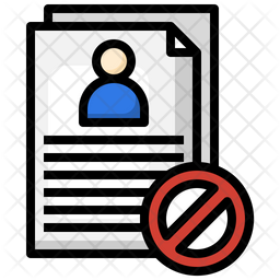 Rejected Employee Icon