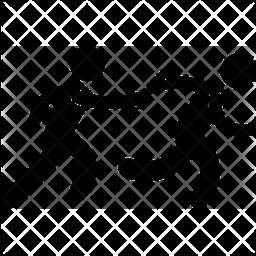 Relay Glyph Icon