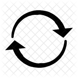 Reload Icon Of Glyph Style Available In Svg Png Eps Ai Icon Fonts