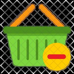 Remove Basket Flat Icon